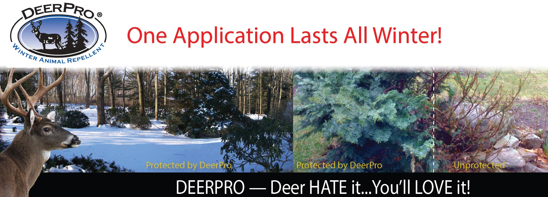 Nott Products DeerPro Winter banner